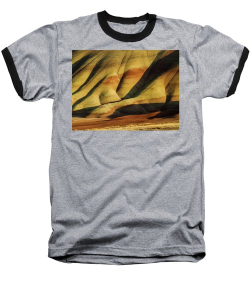 Painted In Gold Baseball T-Shirt