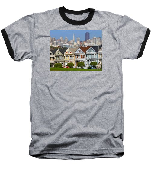 Painted Ladies Baseball T-Shirt