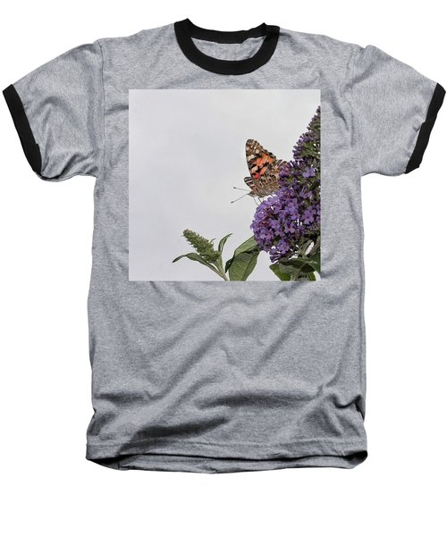 Painted Lady (vanessa Cardui) Baseball T-Shirt