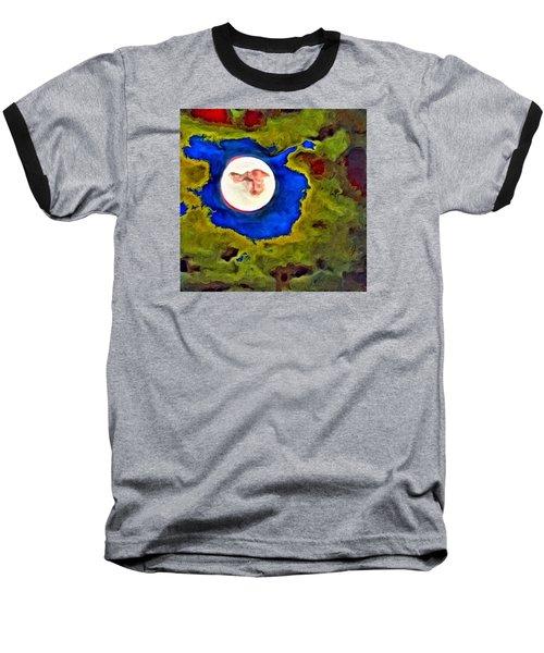 Painted Moon Baseball T-Shirt