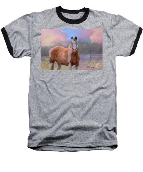 Painted Naturally Baseball T-Shirt
