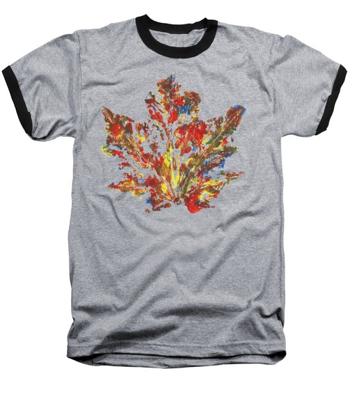 Painted Nature 1 Baseball T-Shirt