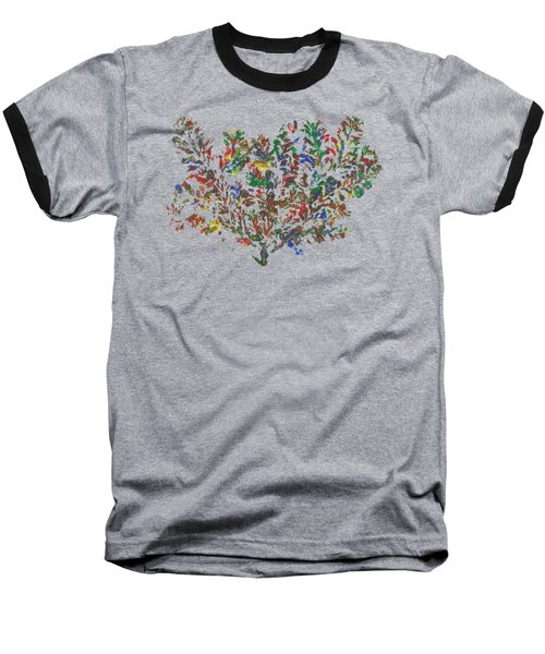 Painted Nature 2 Baseball T-Shirt