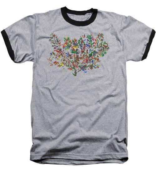 Painted Nature 2 Baseball T-Shirt