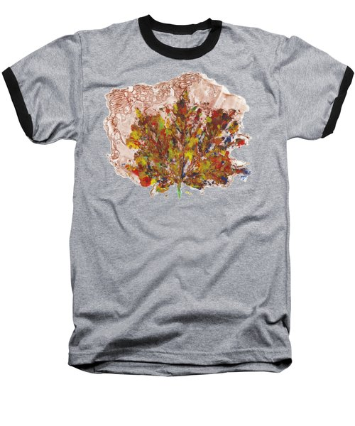 Painted Nature 3 Baseball T-Shirt by Sami Tiainen