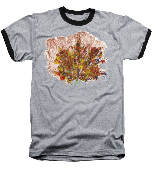 Painted Nature 3 Baseball T-Shirt