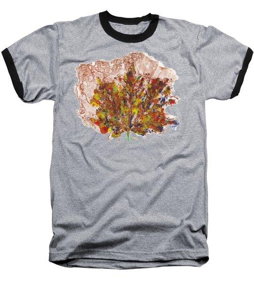Painted Nature 3 Baseball T-Shirt