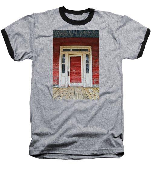 Painted Red Baseball T-Shirt