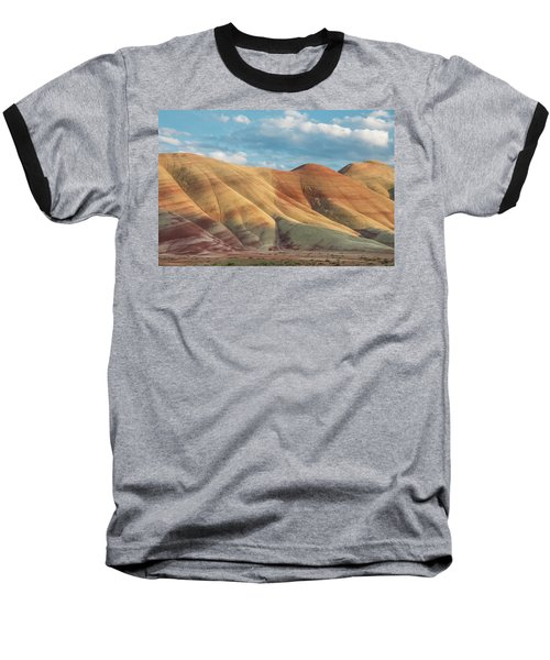 Baseball T-Shirt featuring the photograph Painted Ridge And Sky by Greg Nyquist