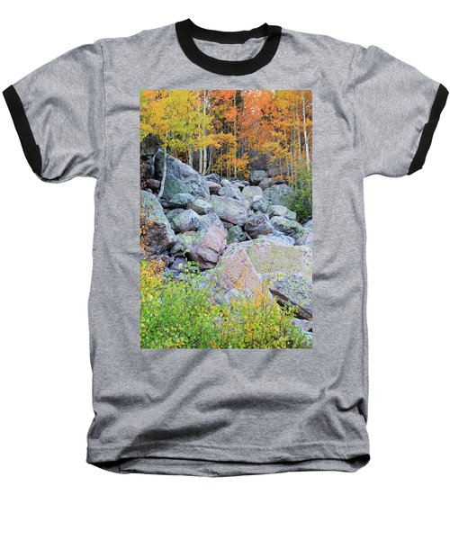 Baseball T-Shirt featuring the photograph Painted Rocks by David Chandler