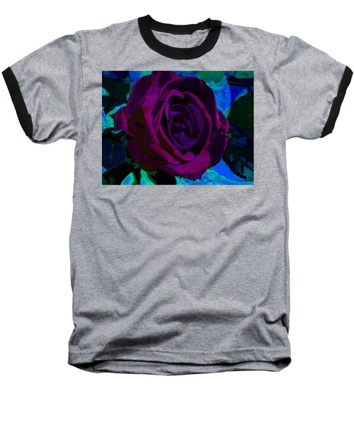 Painted Rose Baseball T-Shirt