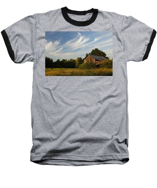 Painted Sky Barn Baseball T-Shirt