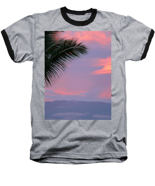 Baseball T-Shirt featuring the photograph Painted Sky by Debbie Karnes