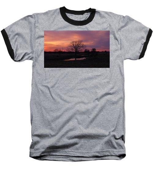 Painted Sky Baseball T-Shirt by Ricardo J Ruiz de Porras