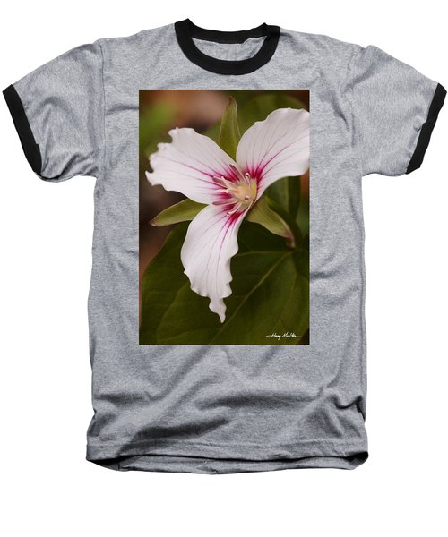 Painted Trillium II Baseball T-Shirt