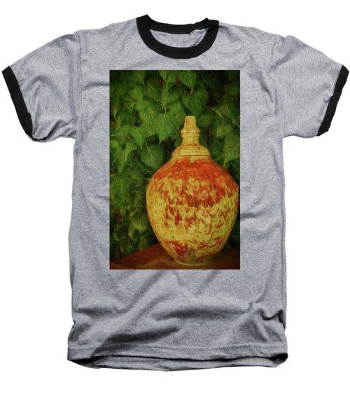 Painted Vase Baseball T-Shirt