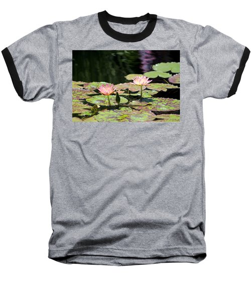 Painted Waters - Lilypond Baseball T-Shirt