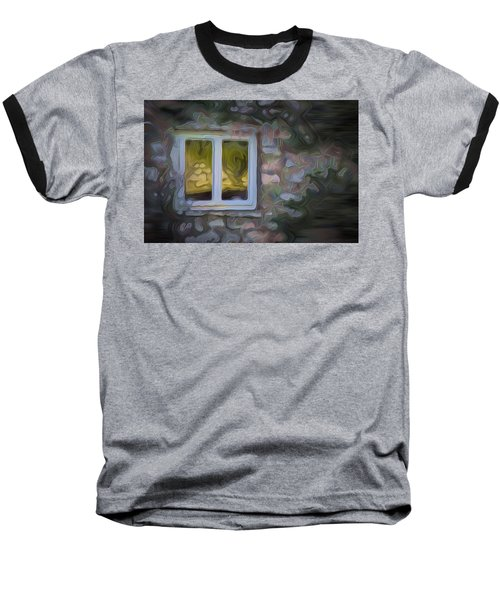 Painted Window Baseball T-Shirt