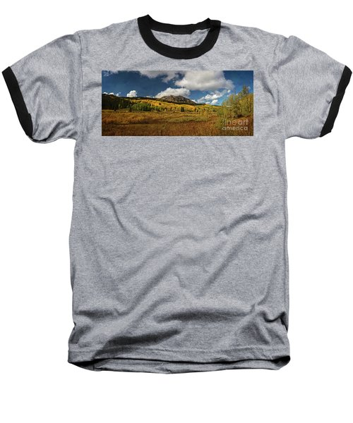 Painterly Kebler Pass Baseball T-Shirt