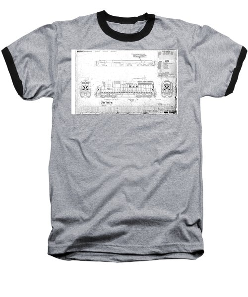 Painting And Lettering Diagramgp30 Baseball T-Shirt
