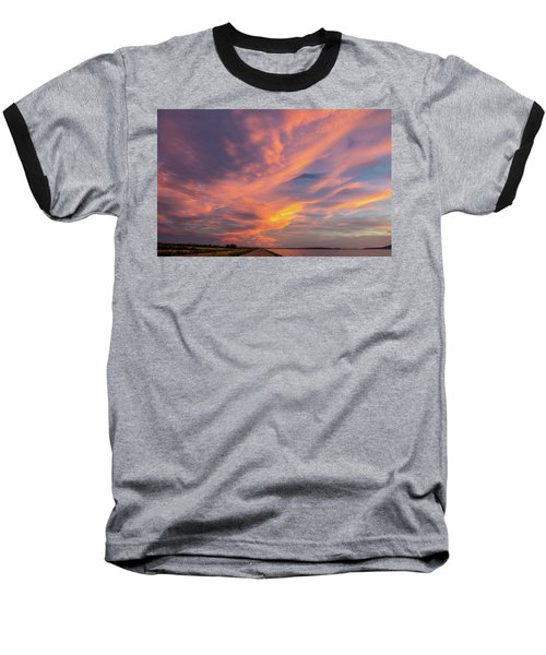 Painting By Sun Baseball T-Shirt