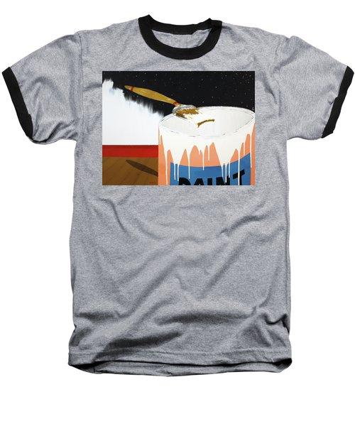 Painting Out The Sky Baseball T-Shirt
