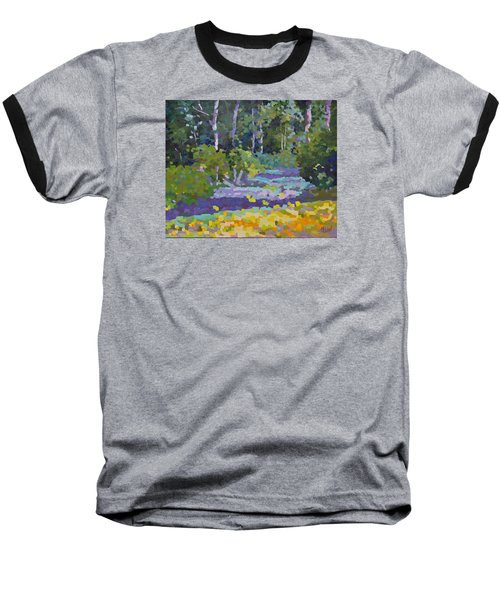 Painting Pixie Forest Baseball T-Shirt