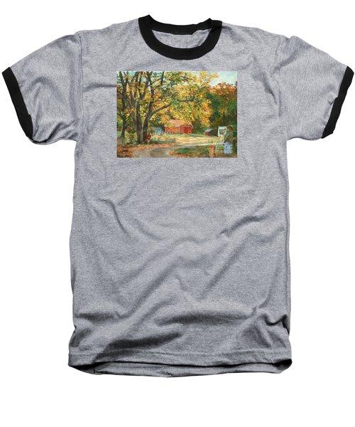 Painting The Fall Colors Baseball T-Shirt