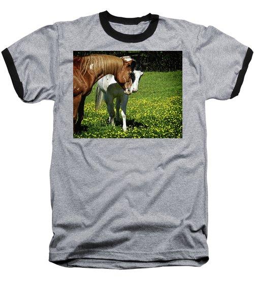 Paints And Buttercups Baseball T-Shirt