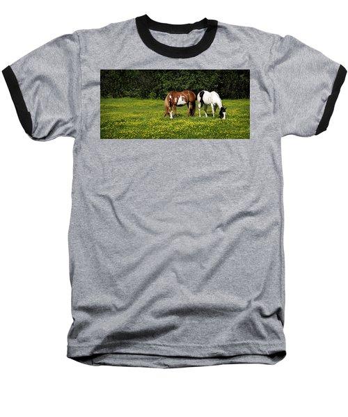 Paints N Buttercups 2 Baseball T-Shirt