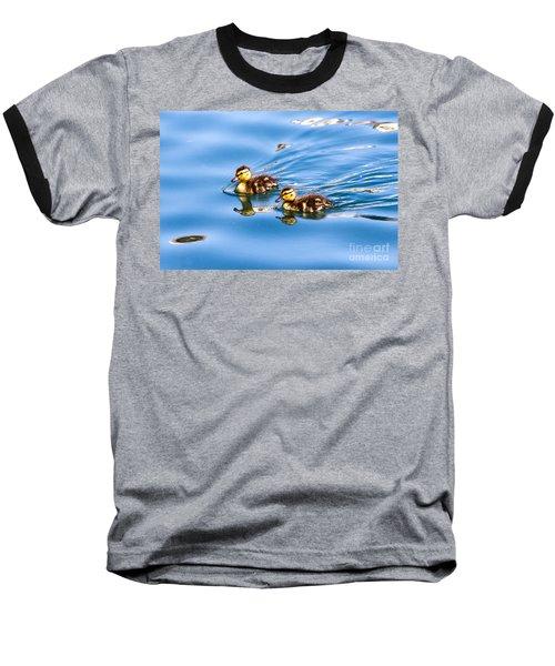 Duckling Duo Baseball T-Shirt
