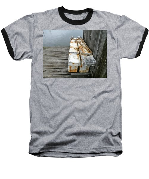 Baseball T-Shirt featuring the photograph Paired Up by Anna Ruzsan