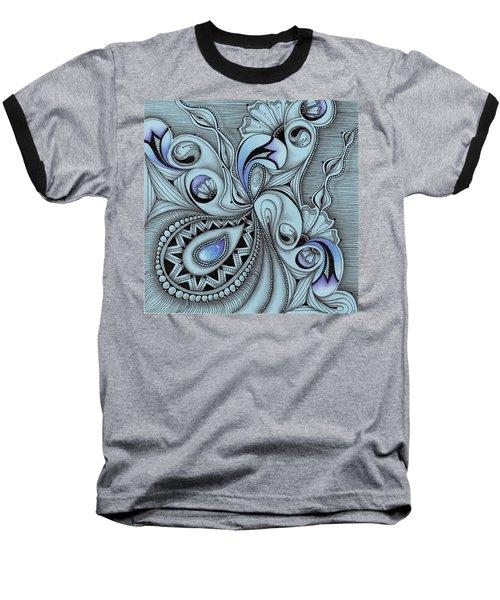 Paisley Power Baseball T-Shirt
