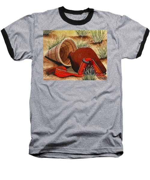 Paiute Baskets Baseball T-Shirt