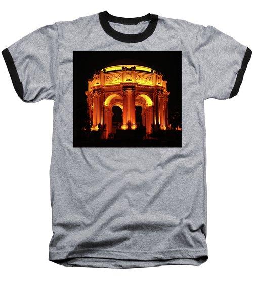 Palace Of Fine Arts - Dome At Night Baseball T-Shirt