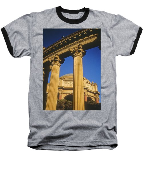 Baseball T-Shirt featuring the photograph Palace Of Fine Arts, San Francisco by Frank DiMarco
