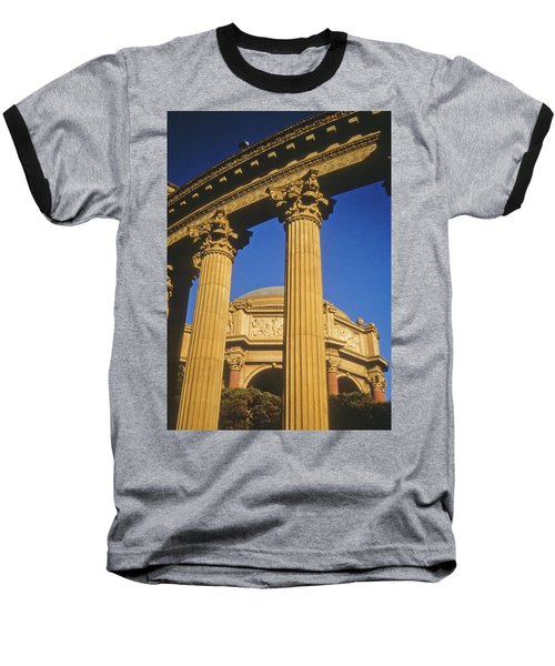 Palace Of Fine Arts, San Francisco Baseball T-Shirt