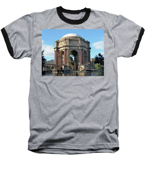 Baseball T-Shirt featuring the photograph Palace Of Fine Arts by Steven Spak