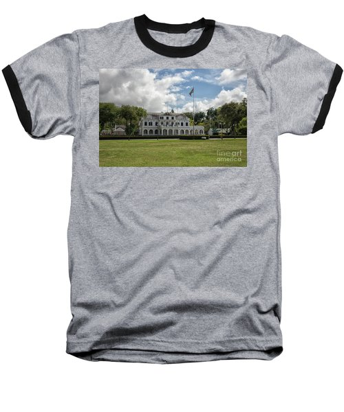 Palace Of President In Paramaribo Baseball T-Shirt by Patricia Hofmeester