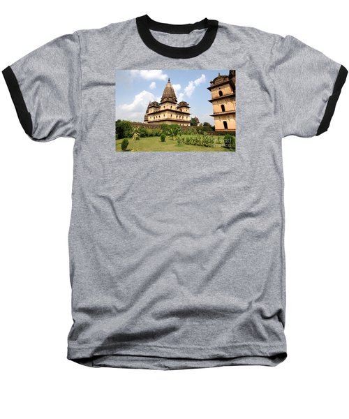 Palaces In Orccha Central India Baseball T-Shirt