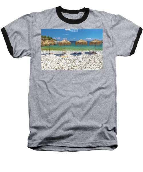 Palapa Umbrellas Baseball T-Shirt