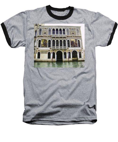 Palazzo Barbarigo Baseball T-Shirt