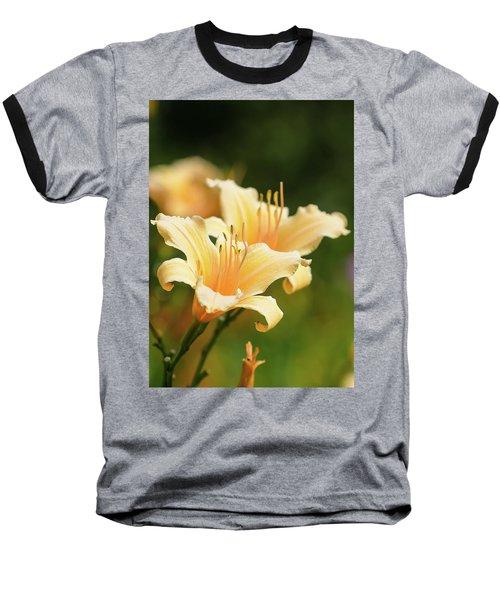 Pale Yellow Baseball T-Shirt