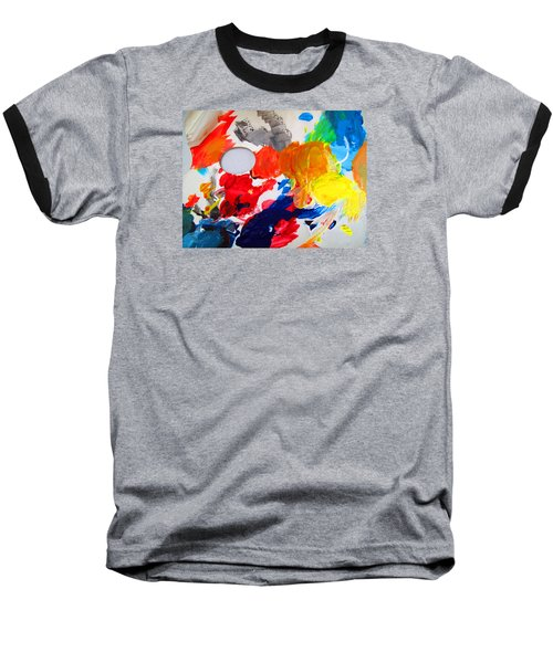 Baseball T-Shirt featuring the photograph Palette by Barbara McDevitt