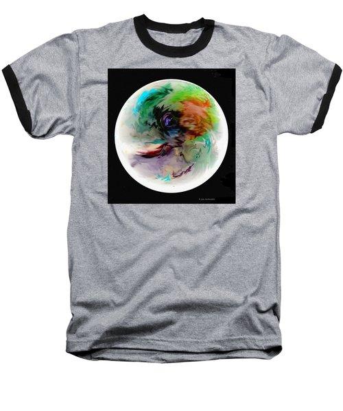 Baseball T-Shirt featuring the photograph Palette Mix by Joan Hartenstein