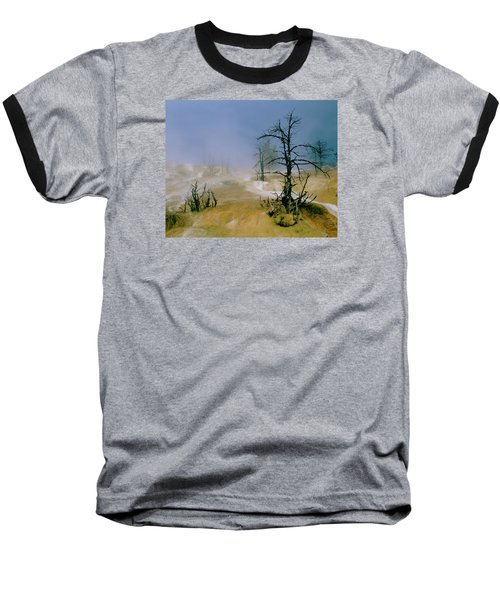 Palette Spring Baseball T-Shirt by Ed  Riche