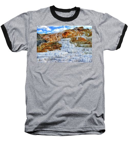 Palette Steps Baseball T-Shirt by Greg Norrell