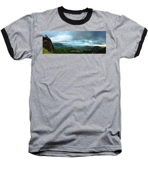 Baseball T-Shirt featuring the photograph Pali Lookout Dawn by Dan McManus