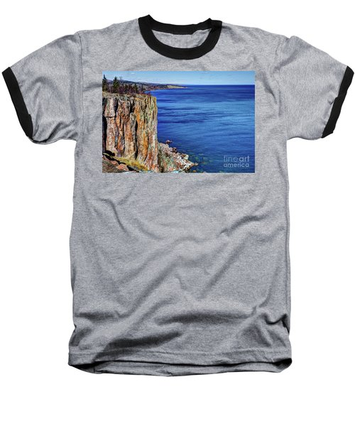 Palisade Head Tettegouche State Park North Shore Lake Superior Mn Baseball T-Shirt