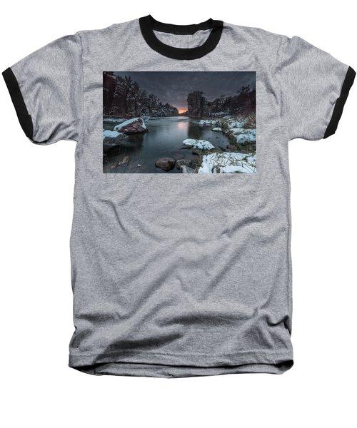 Palisades First Snow Baseball T-Shirt